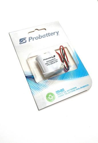bateria telefono inalambrico panasonic general electric 2,4v
