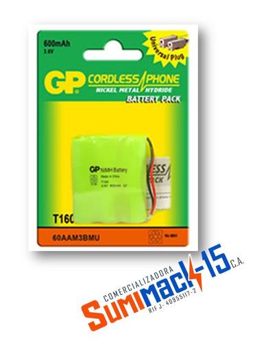 bateria telefono inalambrico t-160 o t110 gp 3.6v 600mah