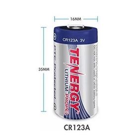 Bateria Tenergy Lithium Cr123a 3 Volt