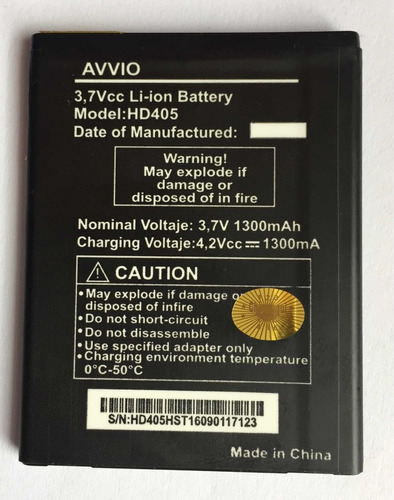batería tipo original avvio 776
