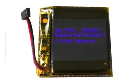 bateria tom tom elogio tomtom spark 3 com garantia nova mp3