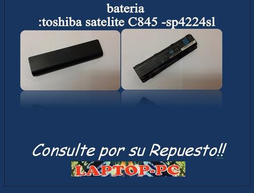 bateria  :toshiba satelite c845 -sp4224sl