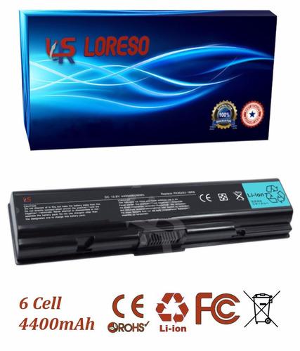 batería toshiba satellite l505d-sp6907c l505d-sp6907r-sp6927