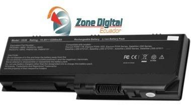 bateria toshiba satellite pa3536u-1brs l350 l355 p205d-s7436