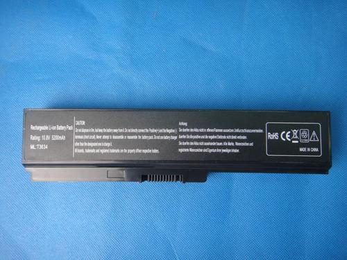 bateria toshiba satellite pa3634u c600 c640d c645d c650 c655