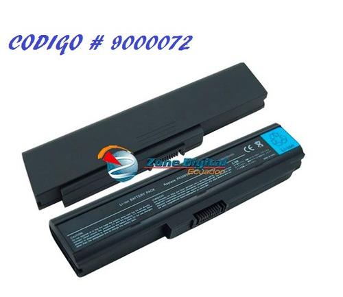 bateria toshiba satellite u300 6 celdas pa3594u