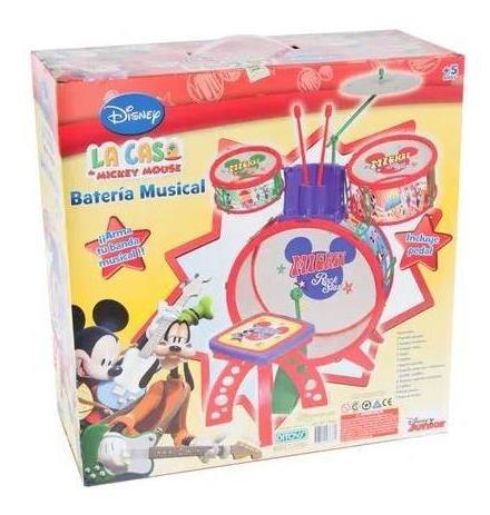 batería tu banda musical mickey mouse ditoys