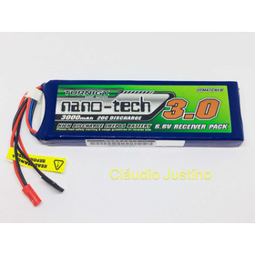 Bateria Turnigy Life 3000mah 6.6v 2s Receiver Pack