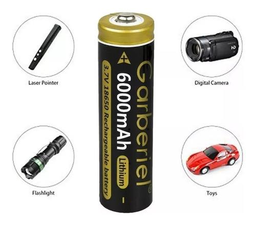 bateria ultrafire 18650 5800mah li-ion recargable 18x67 mm
