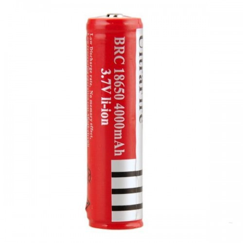batería ultrafire 18650 recargable litio ion  4000 mah 3.7 v