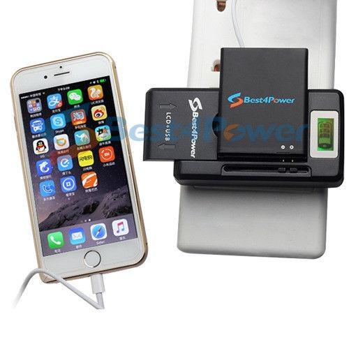 39776d24346 Batería Universal Wall Cargador Lcd Para Samsung Galaxy ...