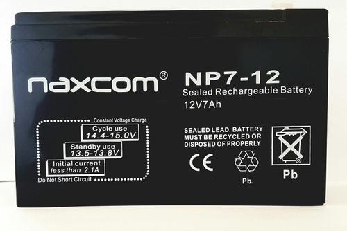 bateria ups 12v 7ah cerco alarmas ups
