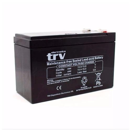 batería ups 12v 9a trv electronics