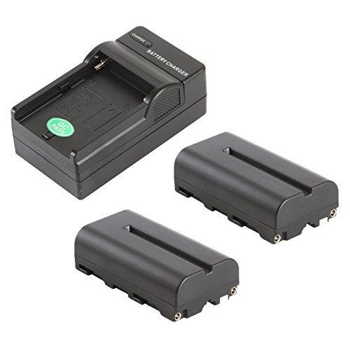 batería viltrox  (paquete de 2) + cargador de batería