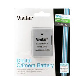 Cargador de Batería para Vivitar ViviCam DVR-830XHD DVR-840XHD Nuevo