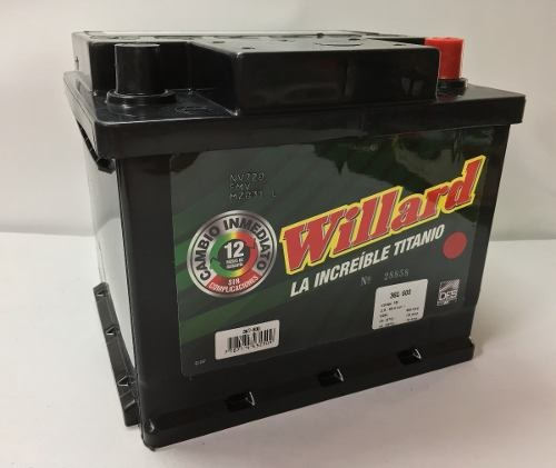 bateria willard 36d-600 chevrolet esteem 1.3 ga