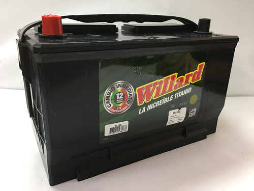 bateria willard 65i-1000 ford explorer xtl/elite/aut/ventura