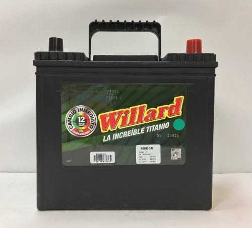 bateria willard increible ns60d-510 garantia 12 meses