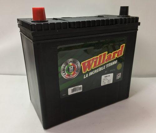 bateria willard ns60i-510 chevrolet sail lt