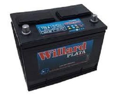 bateria willard ub710 12x85 asiatica envio a domicilio