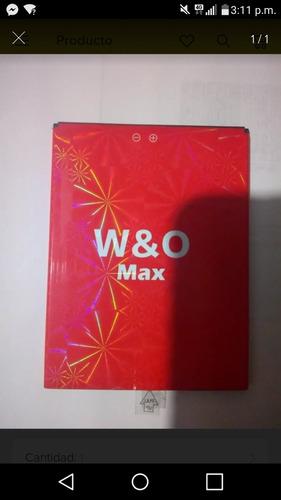 bateria w&o max