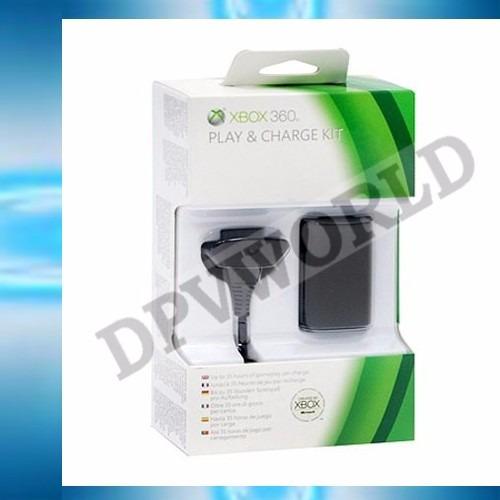 bateria xbox 360 4800mha + cable carga y juega xbox 360