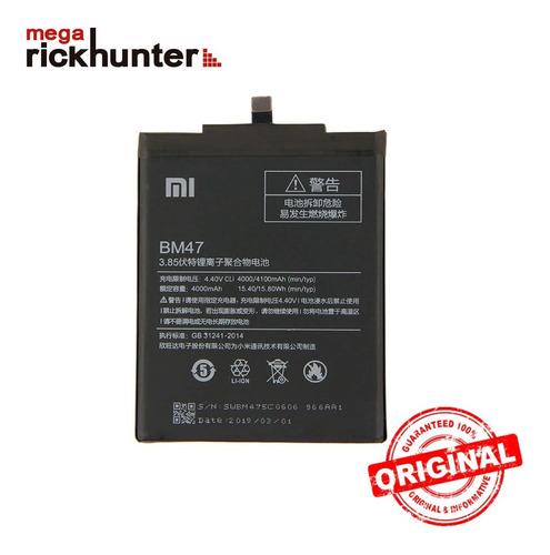 batería xiaomi redmi 3 pro bm47 origina nuevo megarickhunter