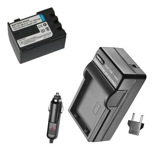 batería y cargador nb-2l14 nb-2l12 nb-2l13 d filmadora canon