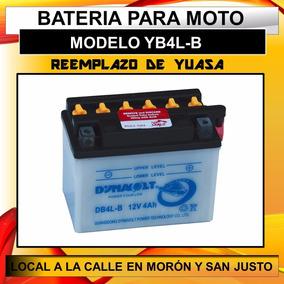 Dynavolt YB4L-B YB4LB Motorcycle Battery Piaggio SFERA 50 91-98