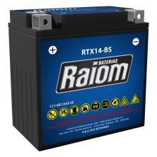 bateria ytx14-bs raiom bmw f800/f650gs/comet/mirage 250/650