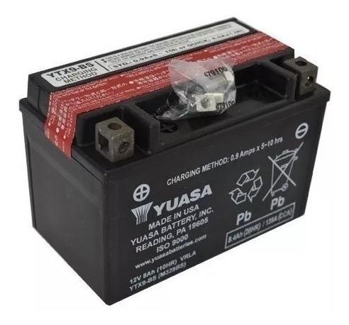 bateria yuasa bmw g310 r/gs ytx9-bs incluye acido