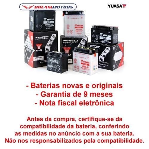 bateria yuasa ytx14-bs bmw r 1200 gs rs r1200gs e adv todas