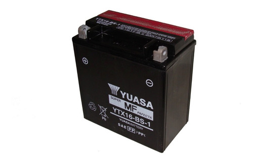 bateria yuasa ytx16-bs-1  intruder boulevard suzuki vulcan