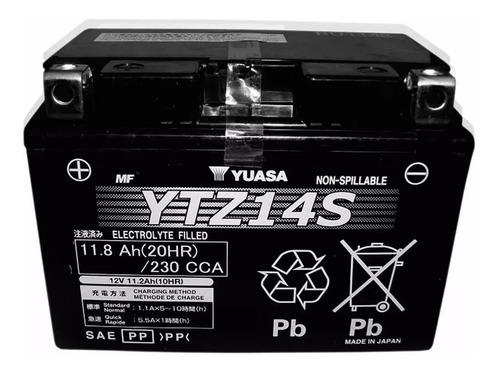 bateria yuasa  ytz14s  ¡¡¡¡100%  japonesa  !!!!