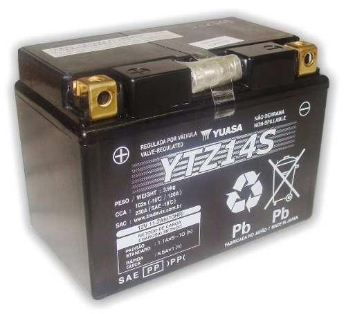 bateria yuasa ytz14s ktm 950 990 1290 1190 rc8 adventure duk