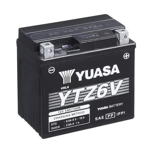 bateria yuasa ytz6v titan 150 mix 09 / bros 150 mix / fan 12