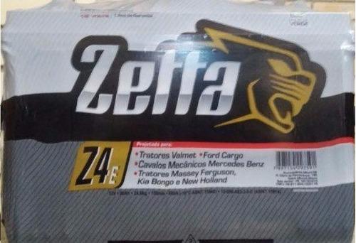 bateria zetta z4e 100ah, caminhão, trator e outros