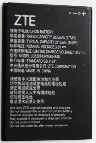 bateria zte z835 maven 3 nueva