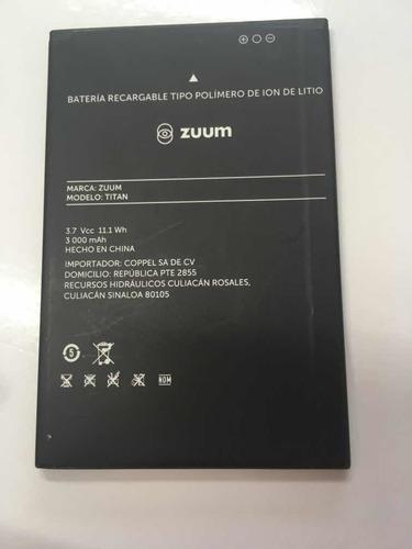 batería zuum titan usada extraída de equipo