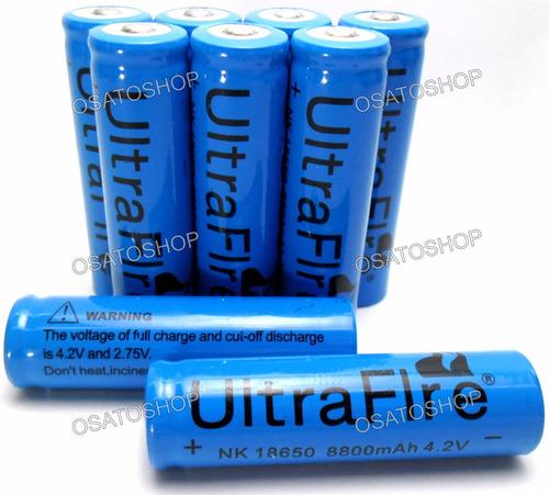 baterias 18650 7800mah 3.7v recarregavel. envio em 24hrs