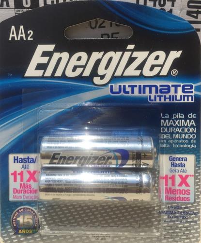 baterias aa lithium energizer