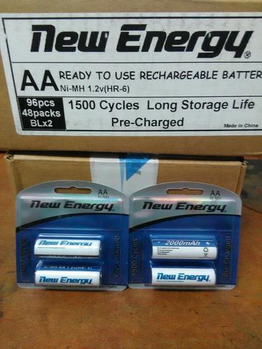 baterías aa y aaa recargables tienda virtual