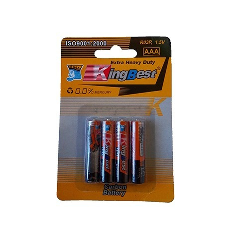 baterias aaa pilas pack 4 unidades 1.5 v