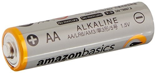 baterías alcalinas aa performance de amazonbasics paq de 100