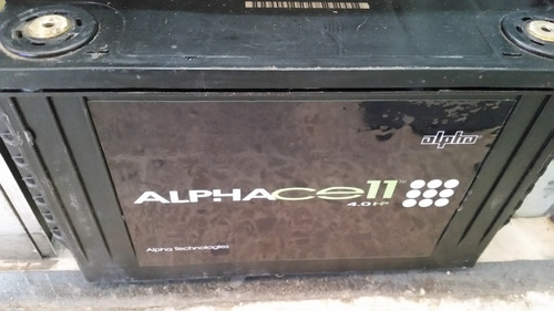 baterias alphacell usadas 3.5hp  año 2018