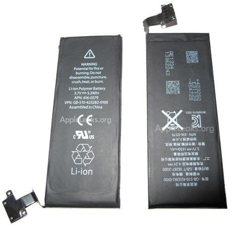 baterias apple iphone 5 practicamente sin uso perfectas