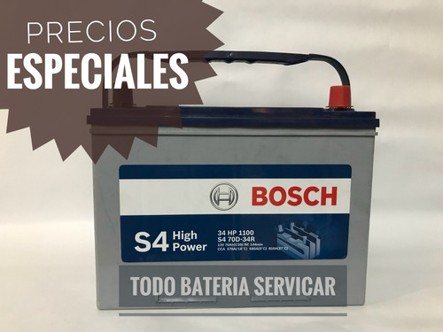 baterias  bosch desde 65 dolares a domicilio