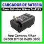Cargador De Bateria En-el14 P/nikon D5200 D5300 D3100 D3200