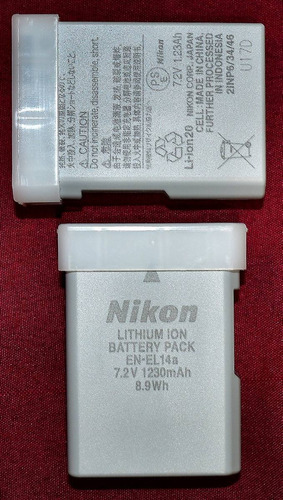 baterias cargador nikon