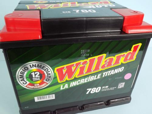 baterías carro willard 780 en bogotá auto campero camioneta